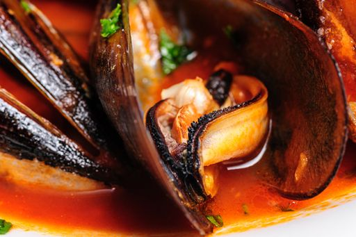 Mussels with our